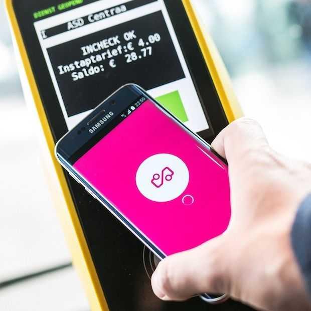 Met Smart-OV wordt je smartphone ook een OV chipkaart