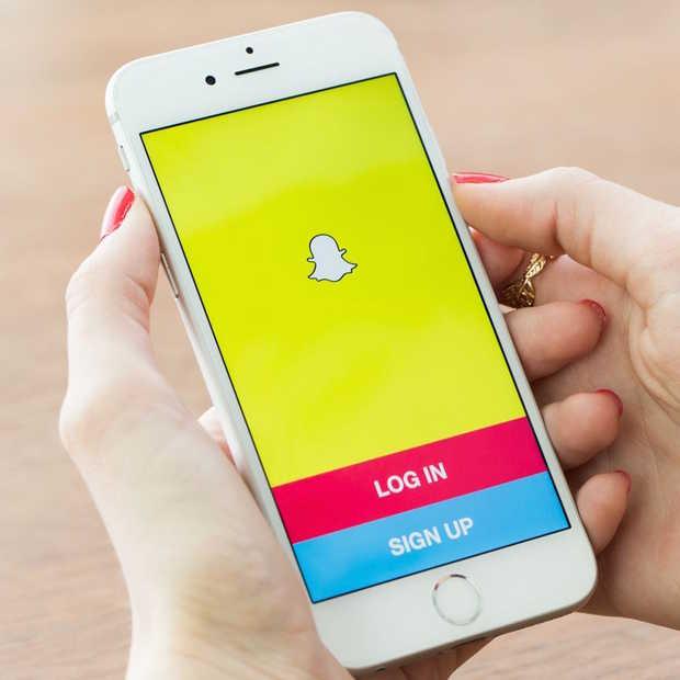 Steeds meer ouderen op Snapchat