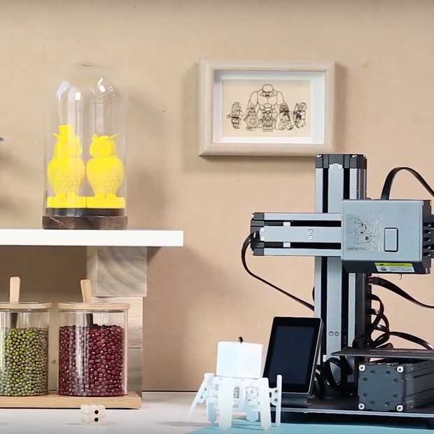 Snapmaker: modulaire 3D-printer hit op Kickstarter