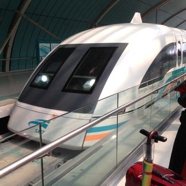 Snelste trein ter wereld: 600 kilometer per uur