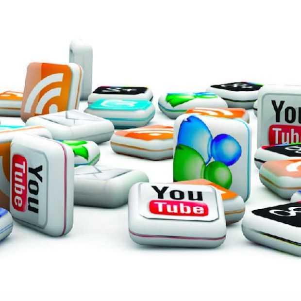 Het gebruik van Facebook, Twitter, Pinterest, Tumblr en Instagram in 2015
