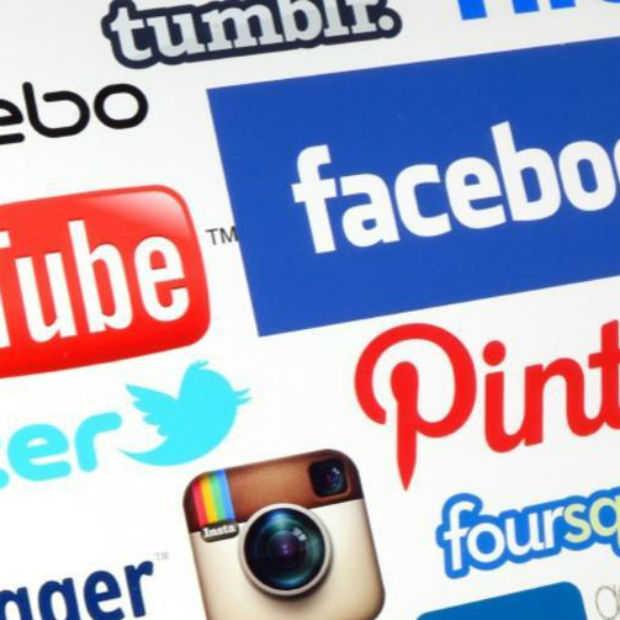 De gemiddelde internetgebruiker heeft vijf social media accounts