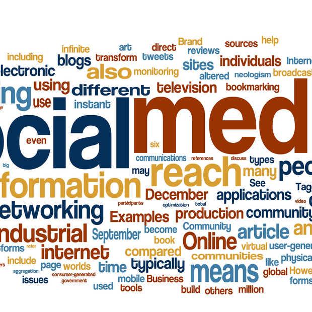 Sociale netwerksites op de werkvloer [Infographic]
