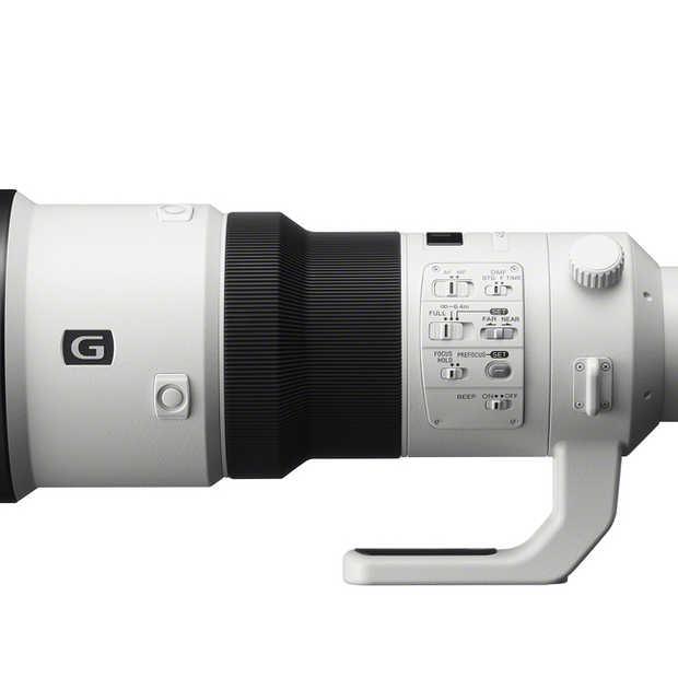 Sony brengt 500 mm Kanon