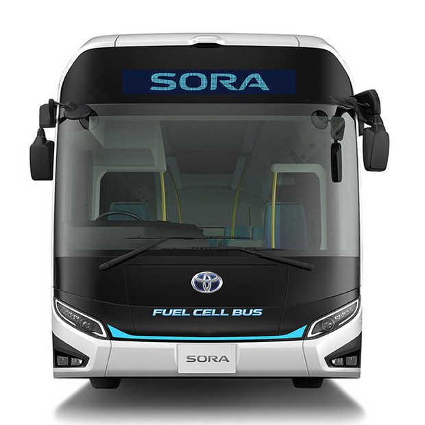 Toyota Sora: eerste concept van een waterstofbus