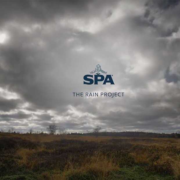 Spa brengt ode aan de regen met 'The Rain Project'