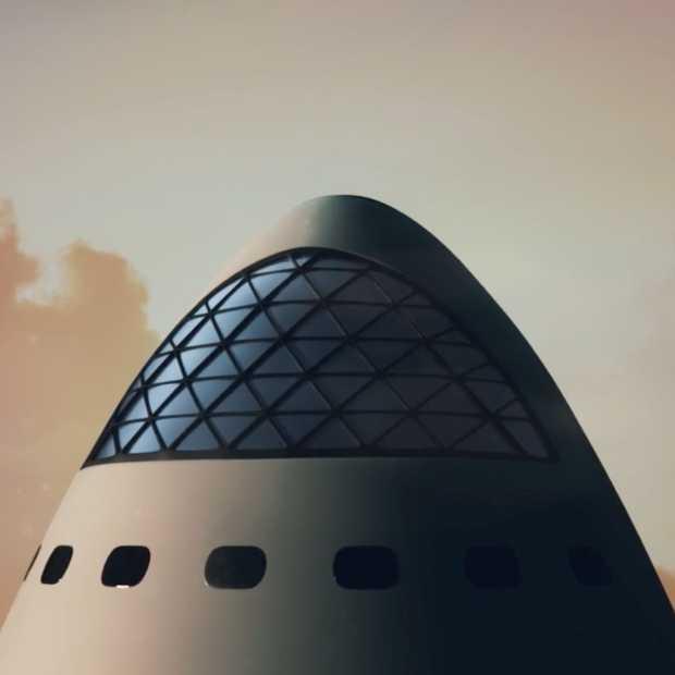SpaceX: in 2022 vliegen we naar Mars en komen we niet meer terug