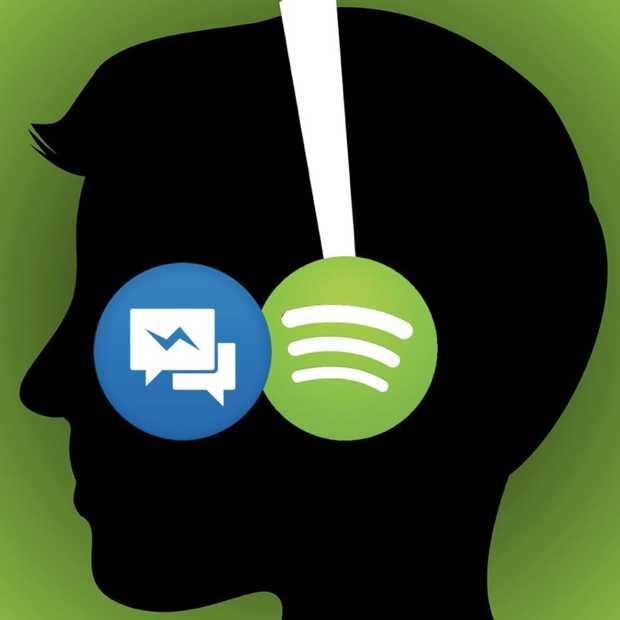 Facebook Messenger lanceert Spotify-integratie