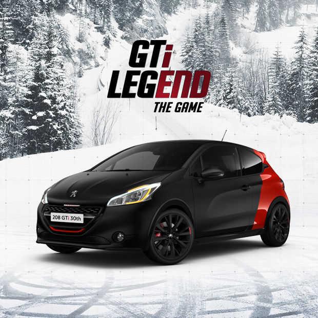 Het meest verslavende spelletje voor de kerstdagen, Peugeot 208GTi the game