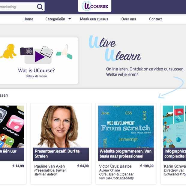 Startup Ucourse biedt videocursussen op je tablet