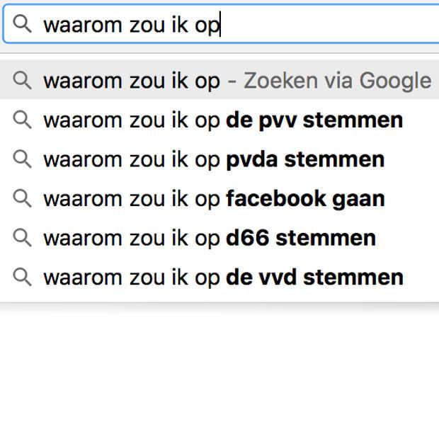 """Nederland stemt massaal, maar """"eerst even nog iets Googlen"""""""