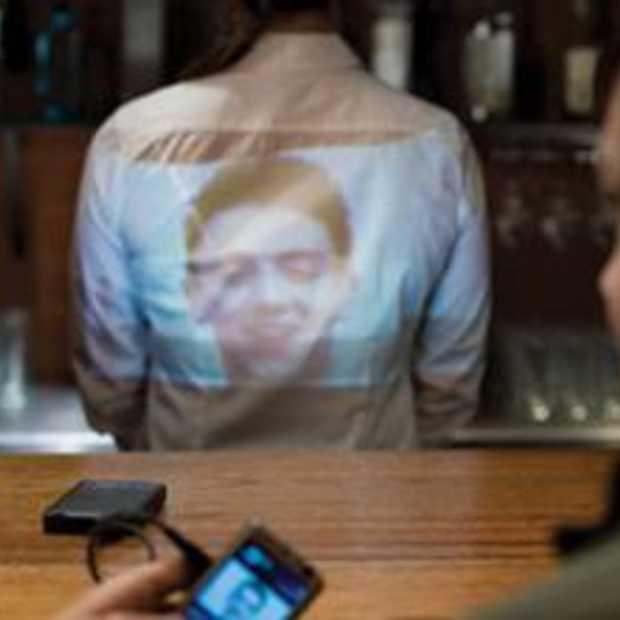 'Stop een laserbeamer in je iPod'