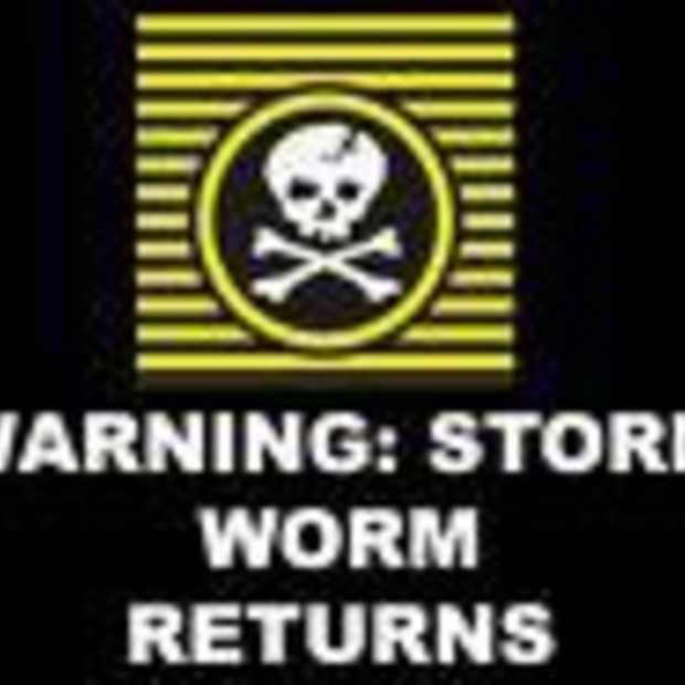 Storm Worm wordt nog groter