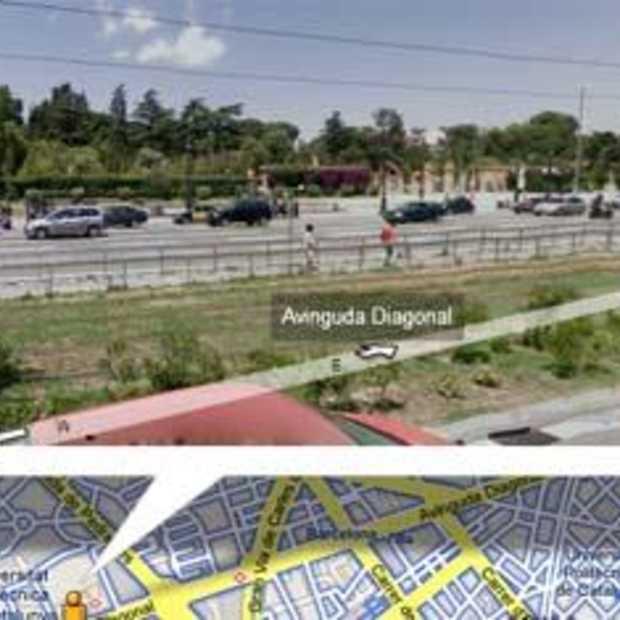 Street View in Spanje en Italië
