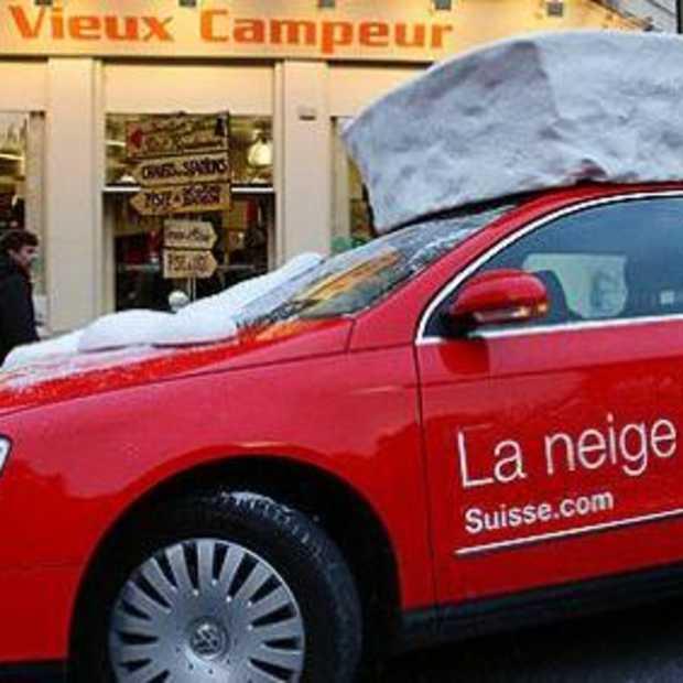Streetmarketing op z'n Zwitsers
