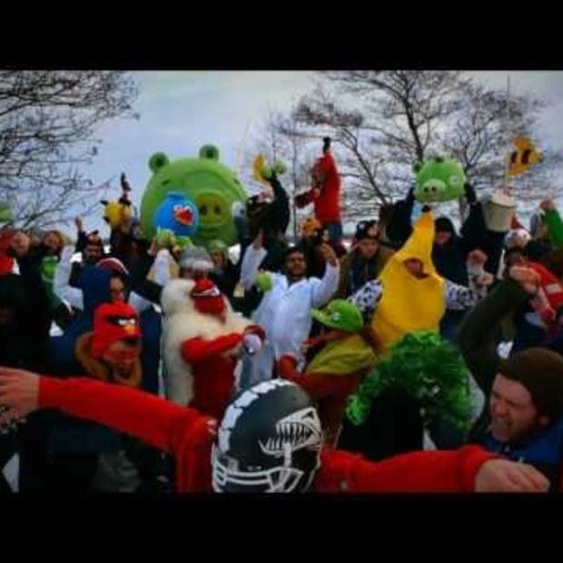 De Rovio / Angry Birds Harlem Shake
