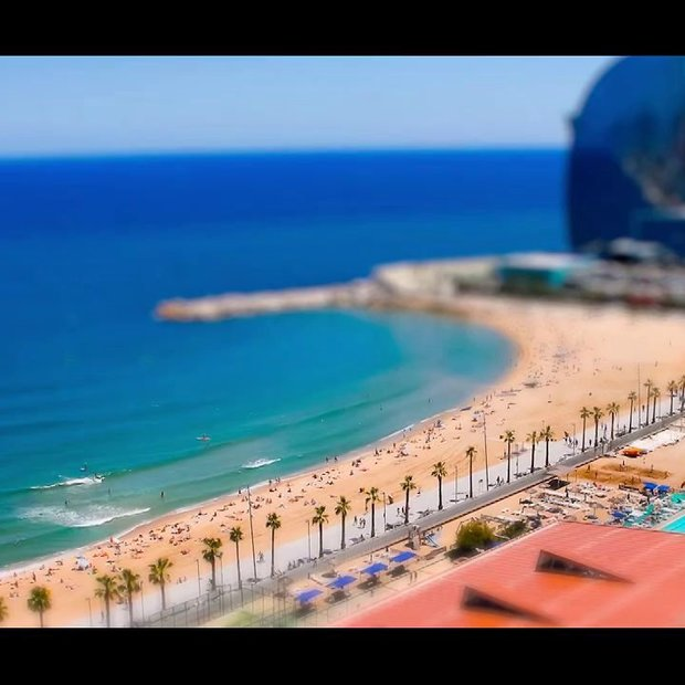 Time-shift video Barcelona (zomer 2012)