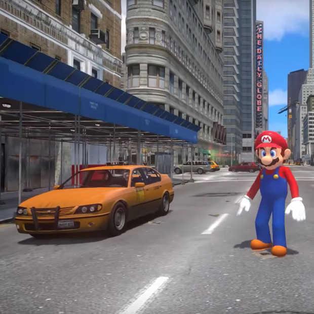 Super Mario Odyssey is leuk maar de GTA IV versie is nog véél leuker