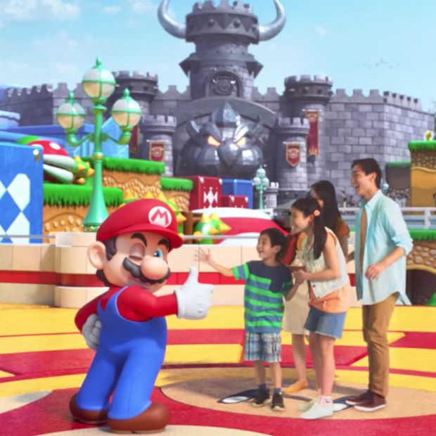 Het Super Nintendo themapark van Universal ziet er heel leuk uit