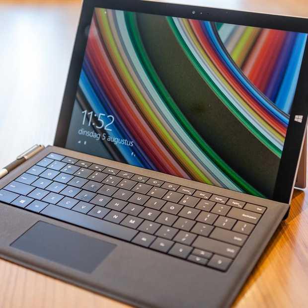 24 uur met Microsoft Surface Pro 3
