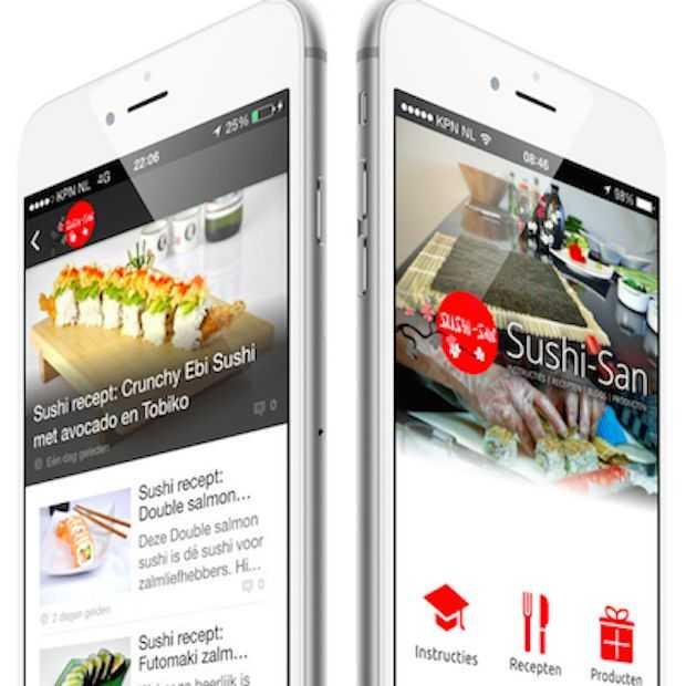 Een Nederlandstalige Sushi-app
