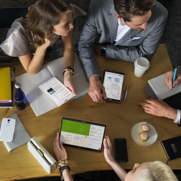Tablet wordt het meest gebruikt voor e-mail