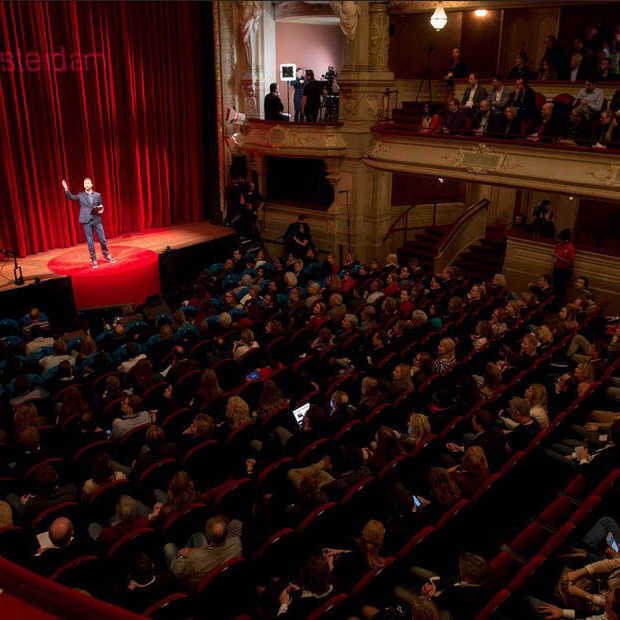 TedxAmsterdam 2014: inspireren en teruggeven
