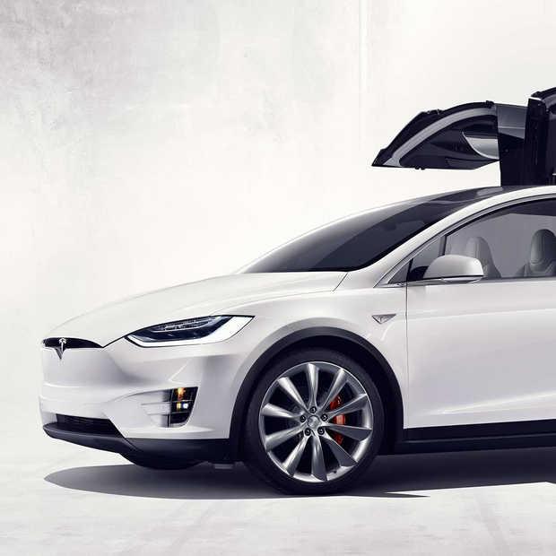 De ongelukdetectie van Tesla aan het werk!