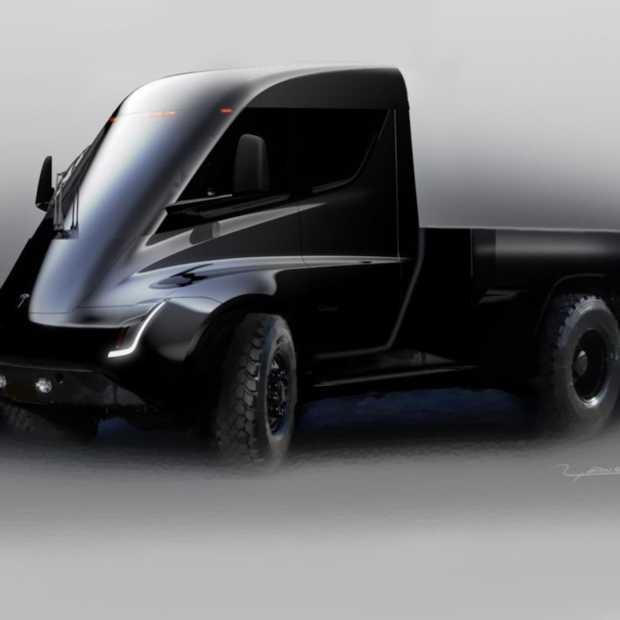 Tesla wil een elektrische pick-uptruck gaan produceren