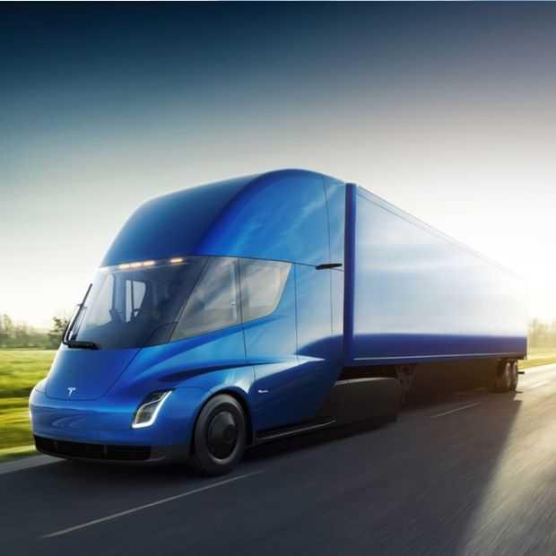 De elektrische Tesla vrachtwagen: alles opgelost