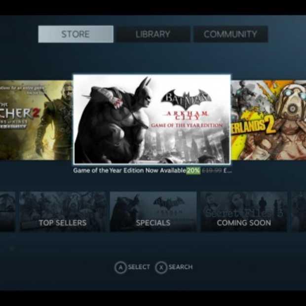 The Big Picture: Valve schuift de PC een stukje verder richting de TV