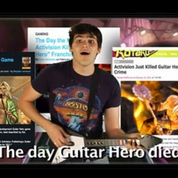 The Day Guitar Hero Died