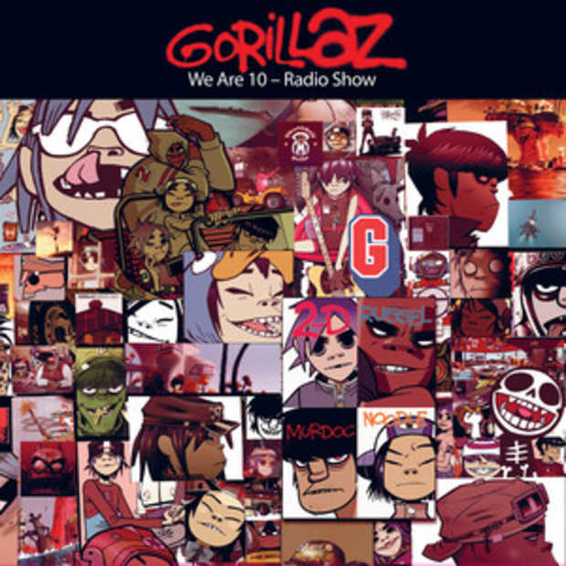 The Gorillaz bestaan 10 jaar en vieren dat met exclusieve content op Spotify
