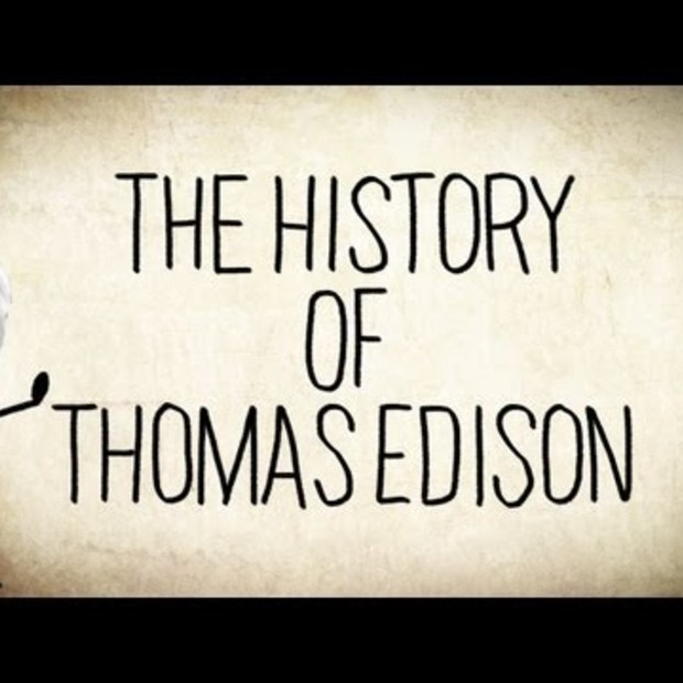 The History of Thomas Edison (165e verjaardag)