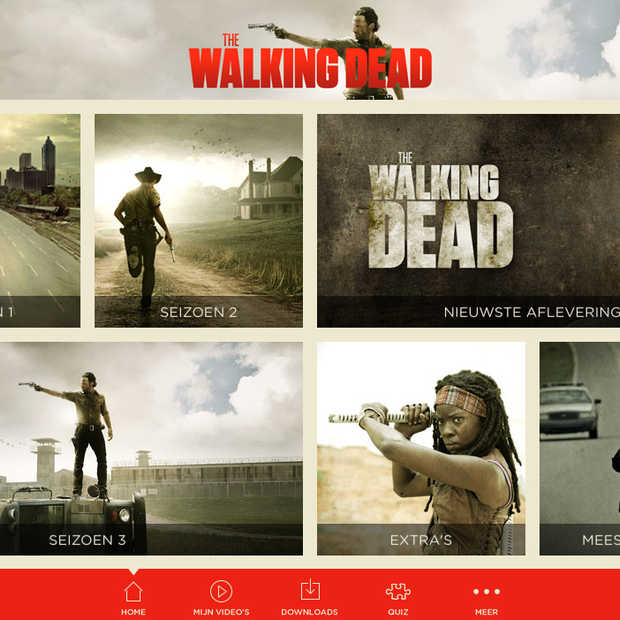 The Walking Dead App eind oktober in de Nederlandse App Store