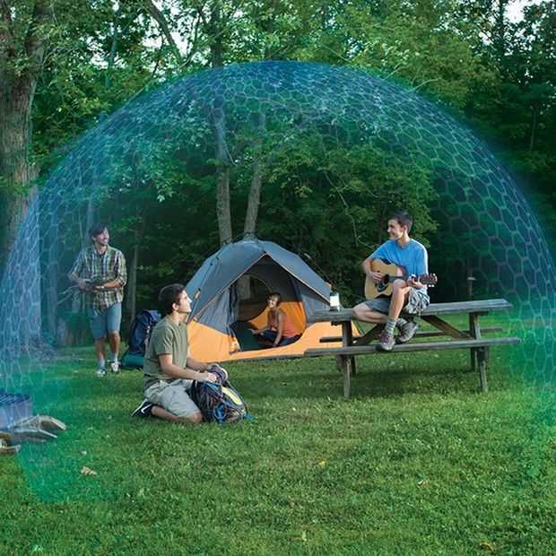Thermacell Radius Zone houdt muggen oplaadbaar op afstand