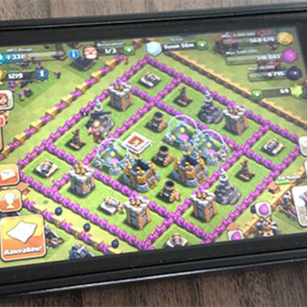 Tieners besteden steeds meer tijd aan mobiel gamen