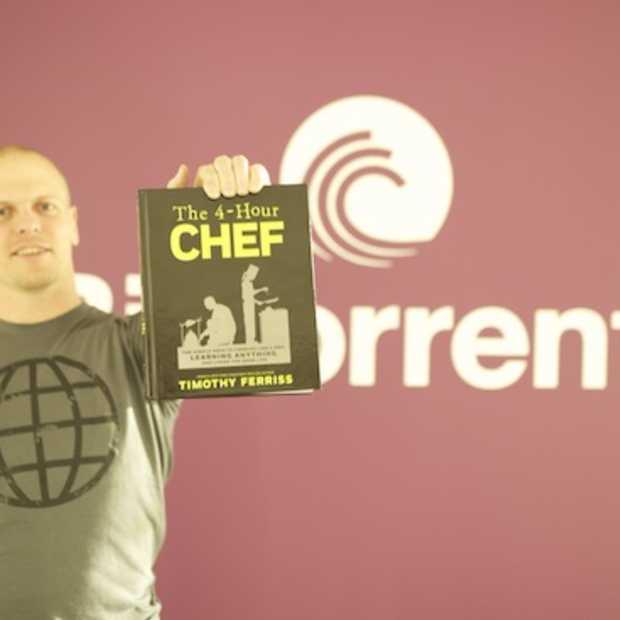 Tim Ferriss promoot nieuw boek op BitTorrent