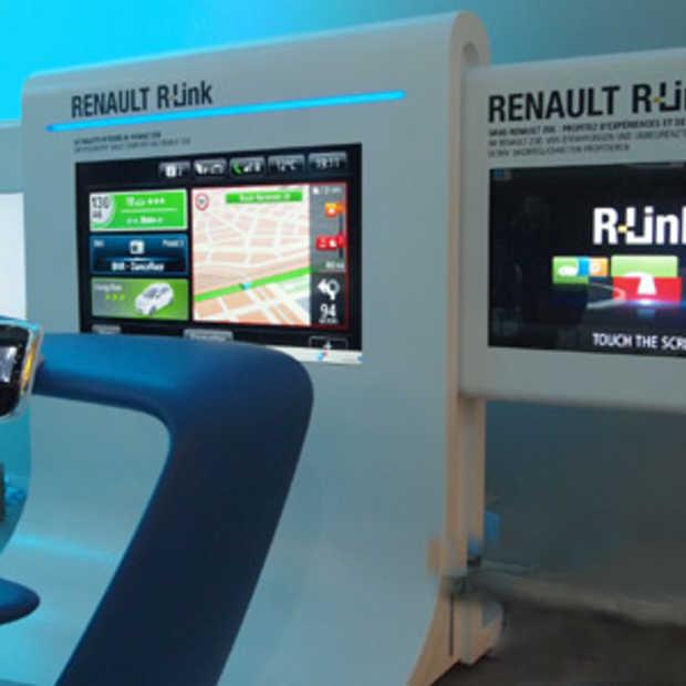 TomTom en Renault werken samen aan R-Link