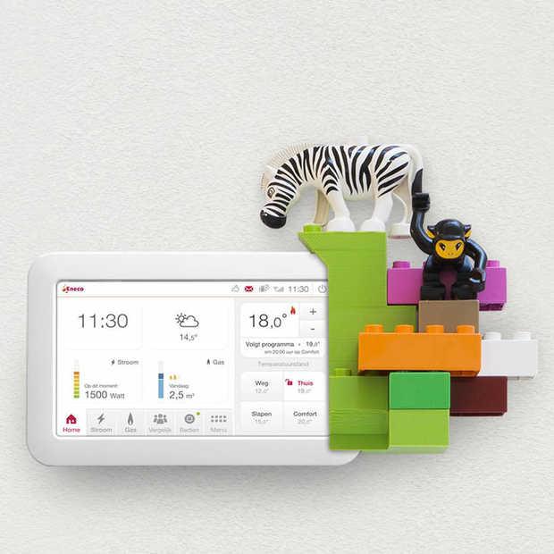10x een custom 3D geprint design voor Toon