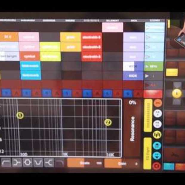 TouchAble - multitouch iPad controller for Ableton Live