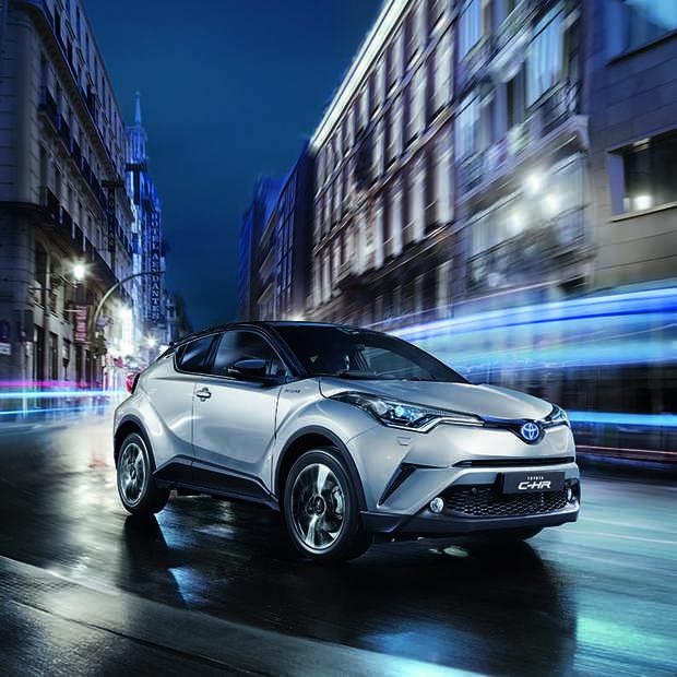 Alles klopt aan de Toyota C-HR