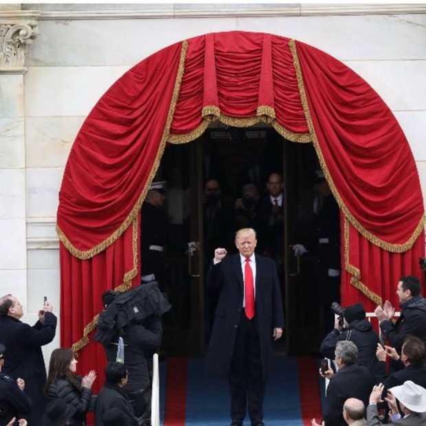 Het ging niet vlekkeloos, maar Trump runt nu @POTUS