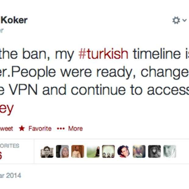 Turkije blokkeert toegang tot Twitter