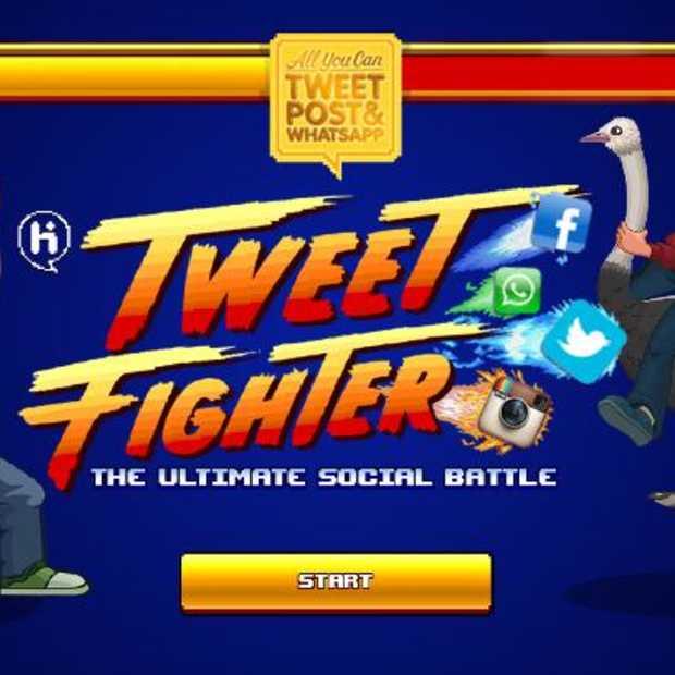 Tweet Fighter kickoff op Amsterdam CS