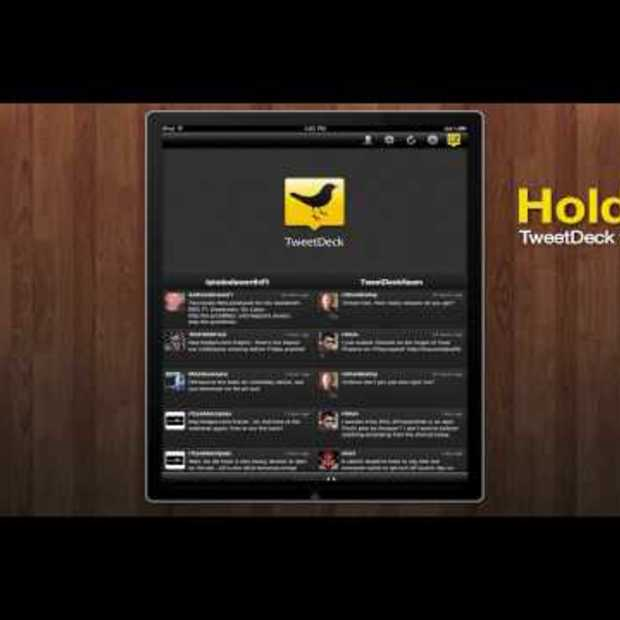 TweetDeck for iPad