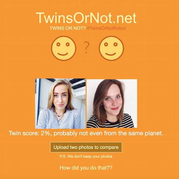 Twins or not?