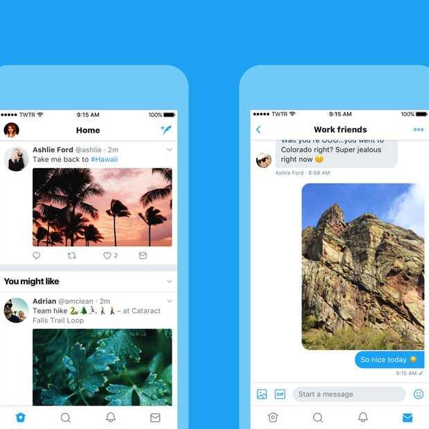Twitter krijgt een nieuwe look!