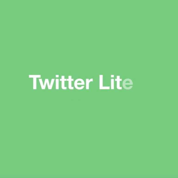 Twitter Lite: een databesparende en snellere mobiele website