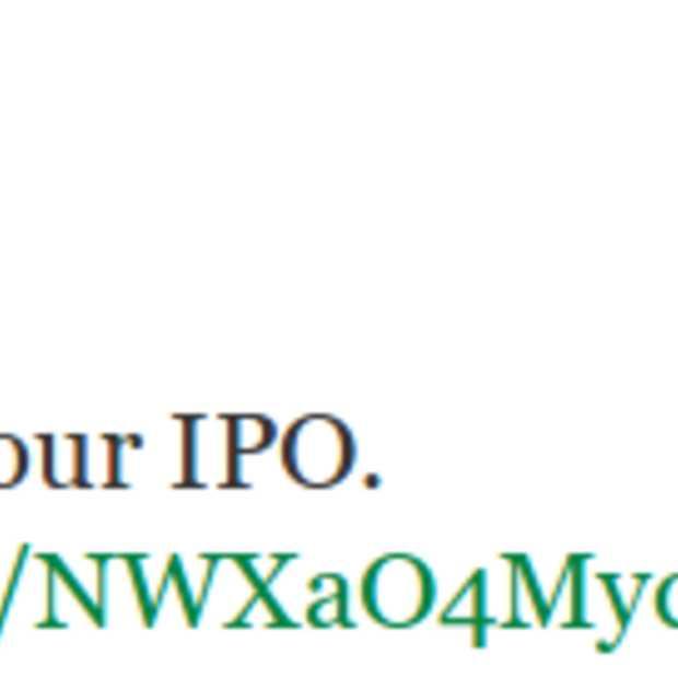 Twitter stelt prijs aandelen vast op $ 26